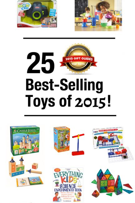 The top 25 best-sellers this year from the 350+ toys across all 10 of our infamous gift guides - each one is guaranteed to be a hit under the Christmas tree!