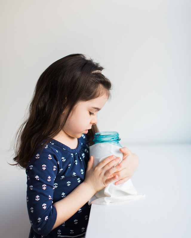 Eco-friendly reusable cleaning wipes for kids