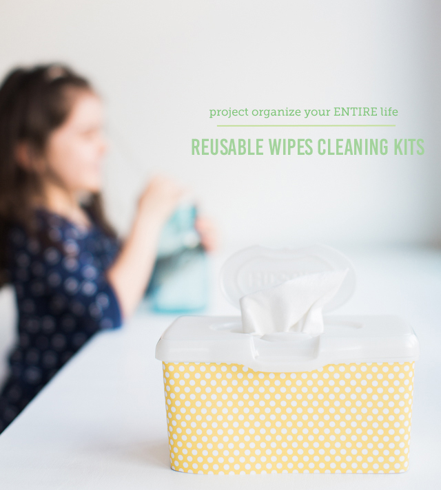 We used to go through so many paper towels at our house. We feel much better about using these reusable kits and the kiddos had a great time making them with me - super simple.