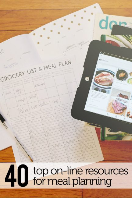 POYEL: 40+ Super Helpful Meal Planning Resources