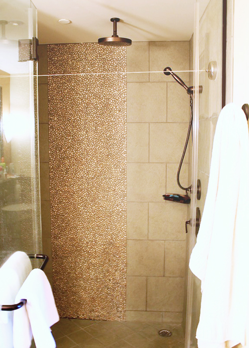 Rain shower in one bedroom villa at Disney's Aulani Hawaiian Resort