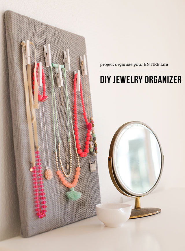 DIY Jewelry Organization Board Modern Parents Messy Kids