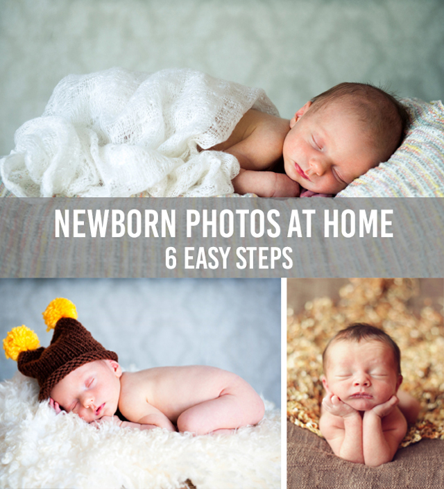 Take Newborn Photos At Home
