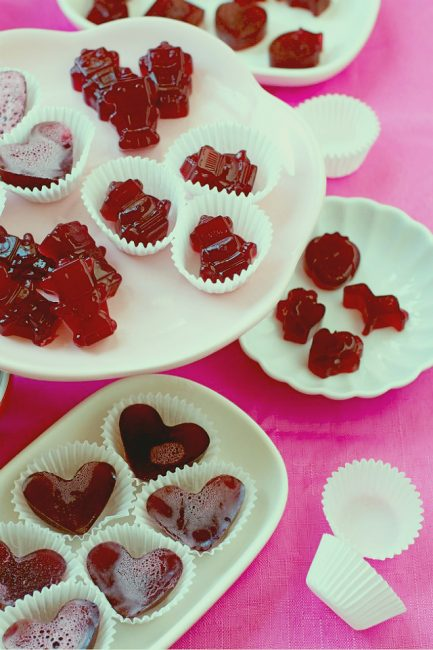 Fruit Juice Gummies: A Healthy Valentine's Day Treat