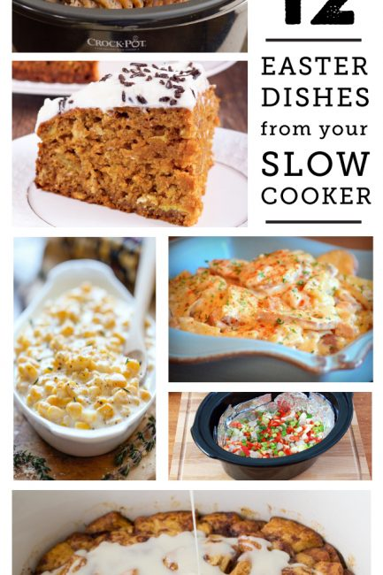 12 Crock Pot Easter Dishes