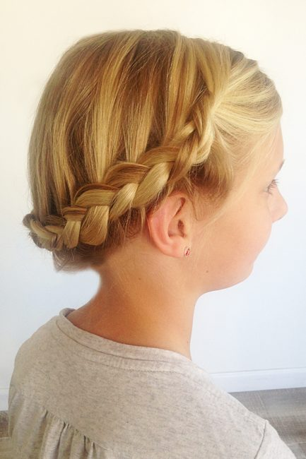 Easy Braiding for Moms: The Crown Braid