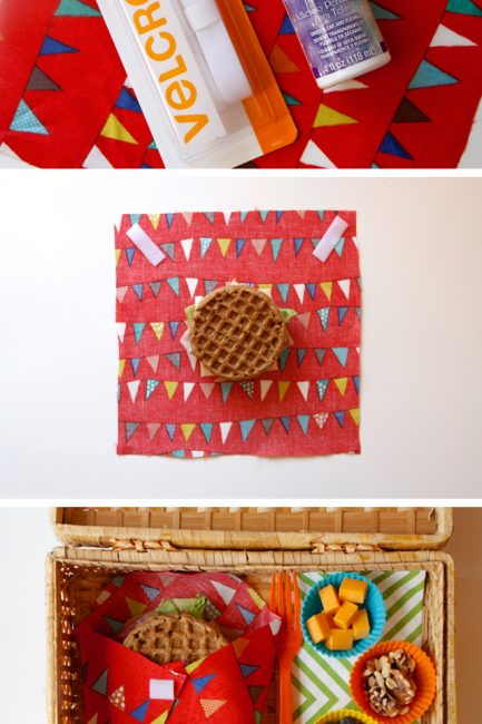 No-Sew Reusable Food Container - Making these for picnics this summer!