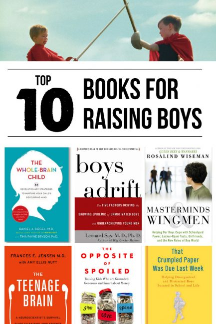 Top 10 Parenting Books for Raising Boys