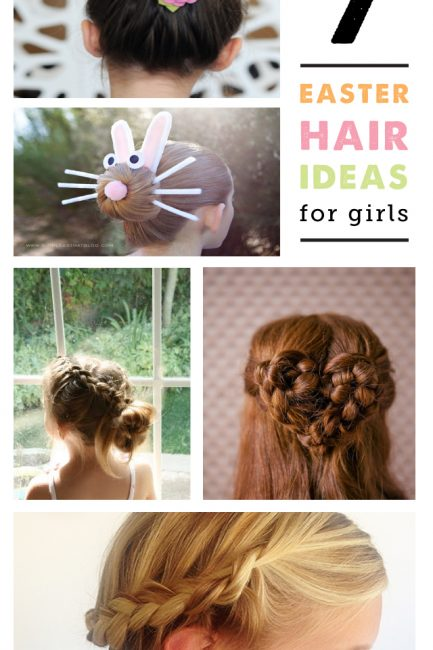 7 Simple Easter Hair Ideas for Girls + A Video!