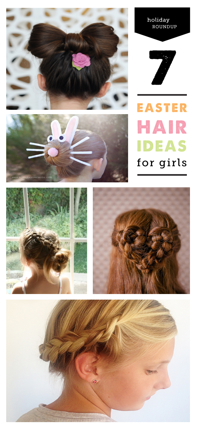 7 Simple Easter Hair Ideas For Girls A Video Modern Parents