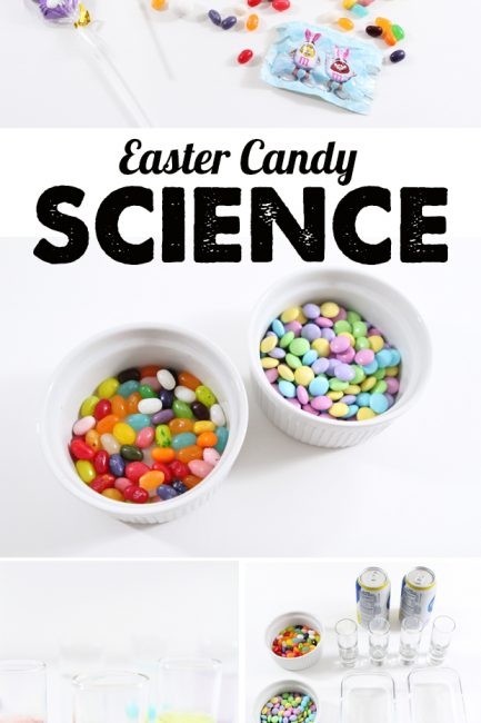 Kitchen Science: Easter Candy Experiments