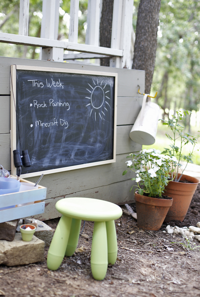 How to build an open-ended outdoor play space for months of summer fun!