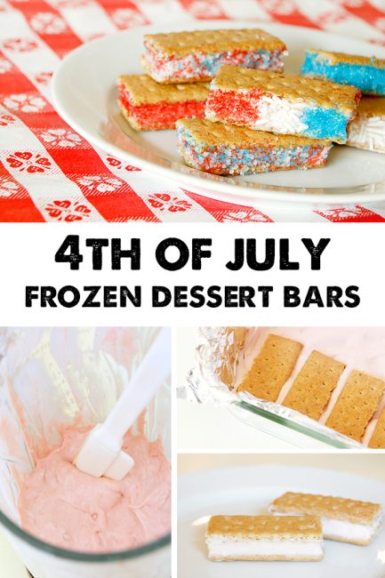 4th of July Frozen Treats with Hidden Fruits & Veggies