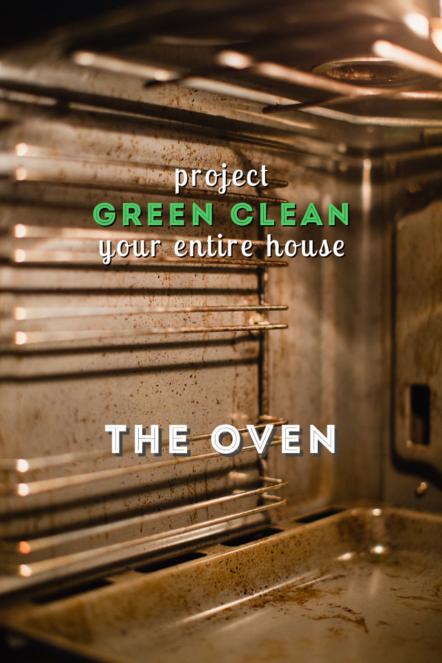 The easiest (and greenest) way to clean your oven!