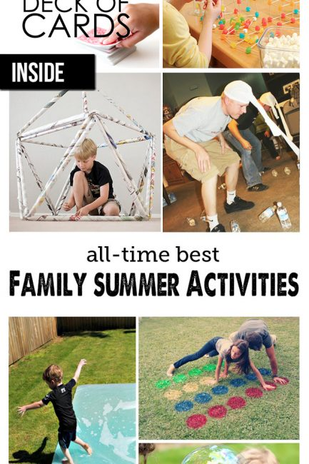 Family Playtime: Great Ideas for Indoor and Outdoor Play this Summer!