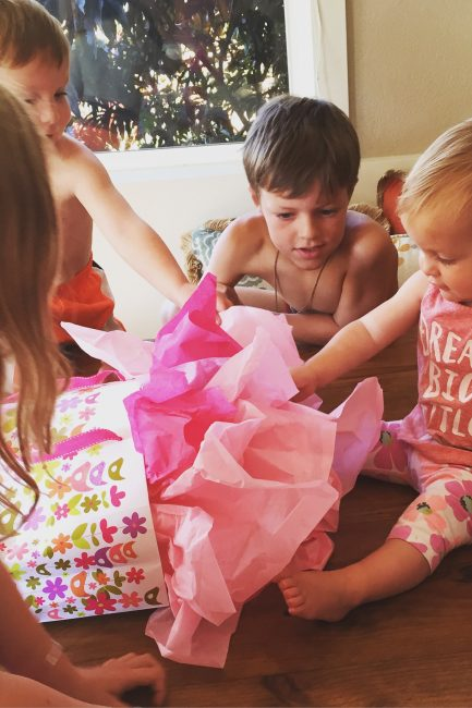 How to Get Back to Simple Birthdays - Such a great message here (sounds really fun too!).
