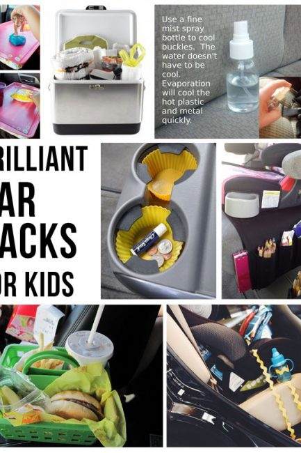 Best Car Hacks for Happy Kids - Love #3 for long trips and #2 for anytime!