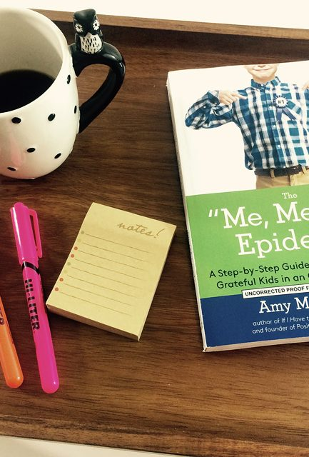 "Back-to-School Must-Read: The ""Me, Me, Me"" Epidemic"