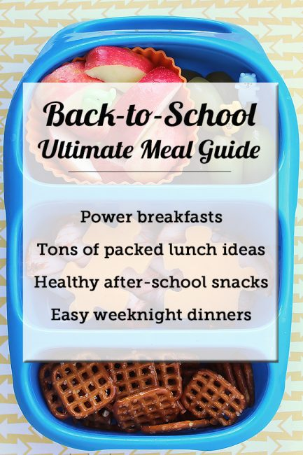 Ultimate Resource Guide: Healthy Back-to-School Eating