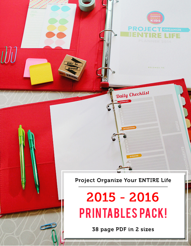 Printables for meal planning, cleaning schedules, Kids routines and chores, budgeting and more - everything you could ever need plus a holiday activity eBook!