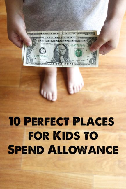 10 Great Places for Kids to Spend Their Allowance