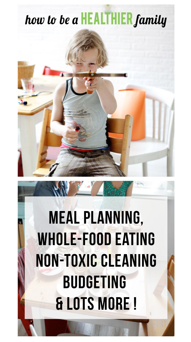 The Best resources for living a healthier life as a family - SO MANY great finds here!!
