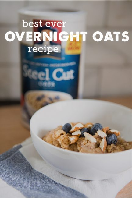 Overnight Steel Cut Oats (and How to Get the Kids to Make Their Own Breakfast)