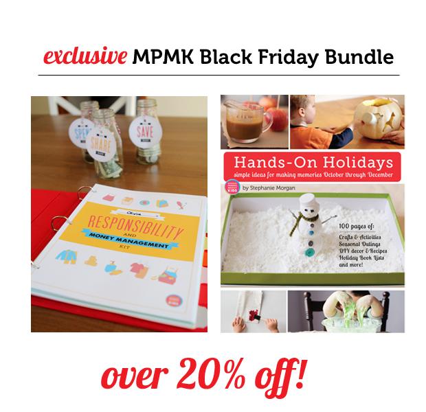 MPMK Black Friday Bundle: Hands-On Holidays eBook & Kids' Responsibility and Money Management Kit