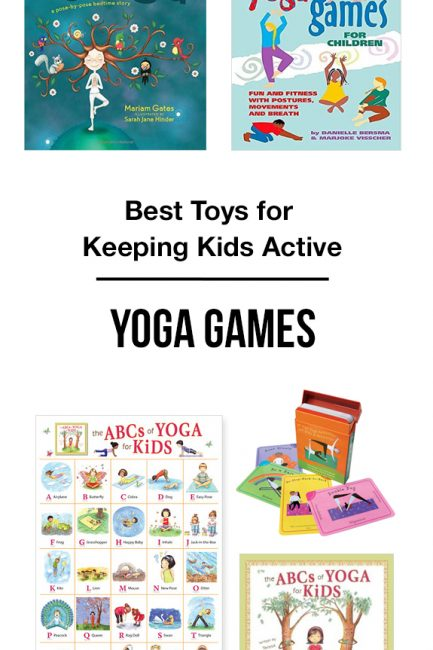 MPMK Toy Gift Guide: Best Yoga Games for Kids & Yoga Books for Kids - Yoga promotes health & self-esteem in kids while reducing feelings of helplessness and aggression.