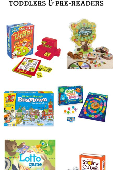 MPMK Toy Gift Guides: Best Games for Pre-Readers and best games for toddlers. This is an amazing resource full of so many great detailed suggestions with age recommendations. LOVE!!