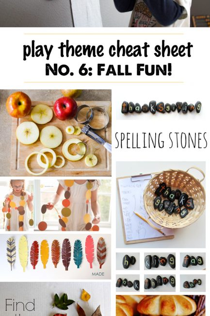 25 Simple Play Ideas for Fall