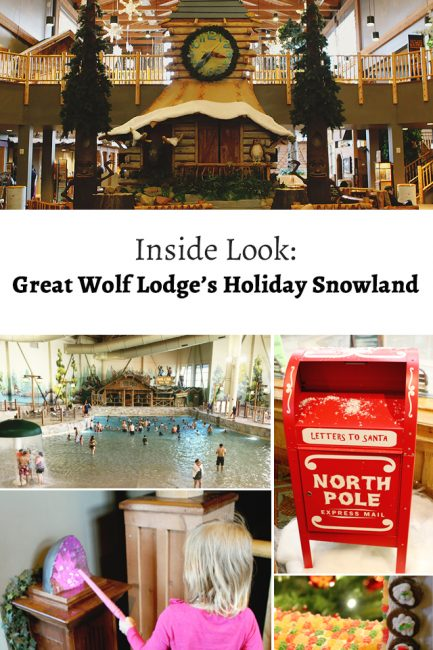 An Inside Look: Snowland at Great Wolf Lodge