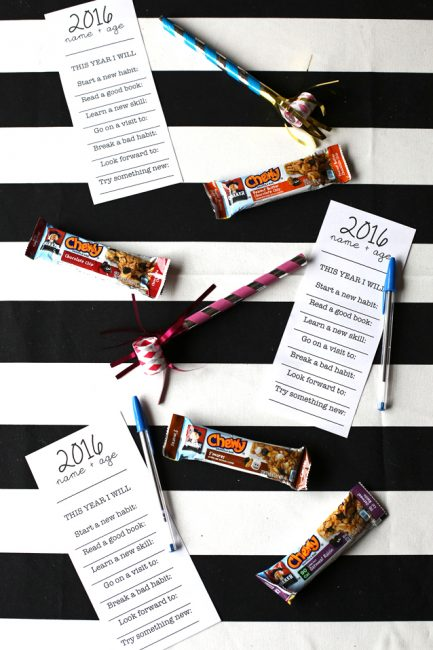 Free Printable: Resolutions Worksheets for the Whole Family