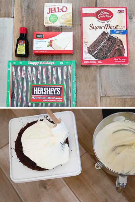 Simple Holiday Baking: Peppermint Bombe Cake