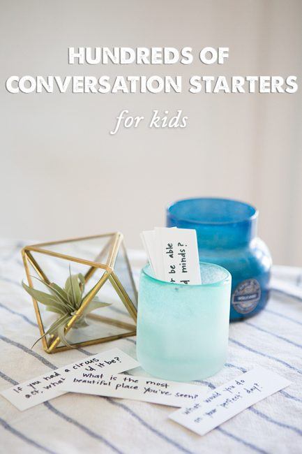 How to Connect at Dinner Time: Conversation Starters & Parked Phone Stations
