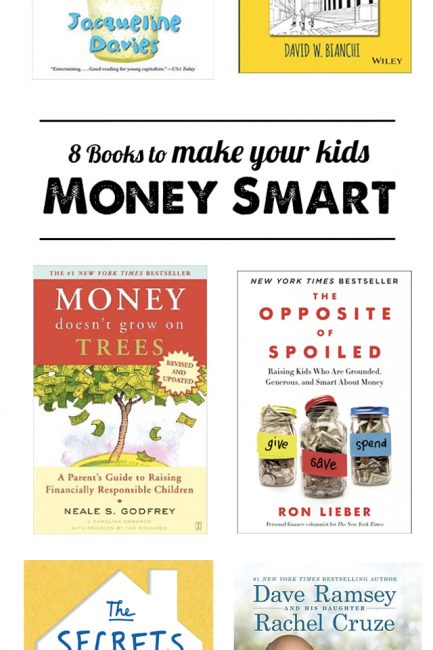 How to teach kids about money - 8 must-read books for raising financially smart children.