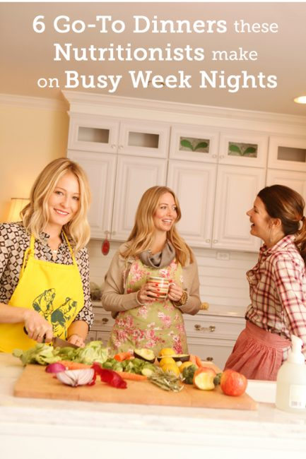 What Nutritionists Eat on Busy Weeknights