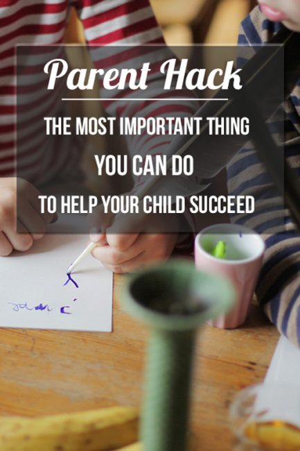Parenting Hack: Success filing with your kids to build resilience - staring this with my kiddos right away!