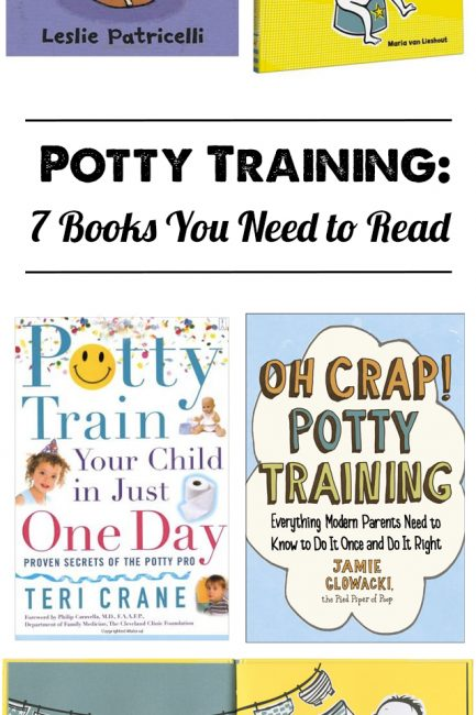 Must-Read Potty Training Books- love that there are books for parents on when and how to potty train as well as cute potty training board books kids love!