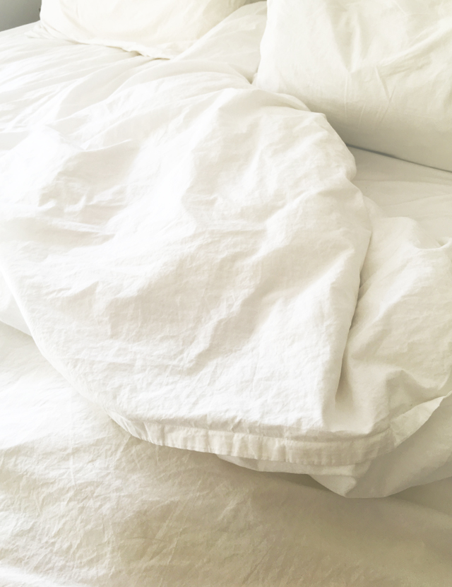 Best bedding ever - these non-toxic luxury sheets are made in Italy and surprisingly affordable. The envelope closure on the shams are my favorite part- no more slumpy pillows!