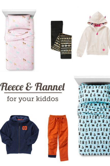 Friday Finds: Fleece & Flannel to Keep the Kiddos Warm