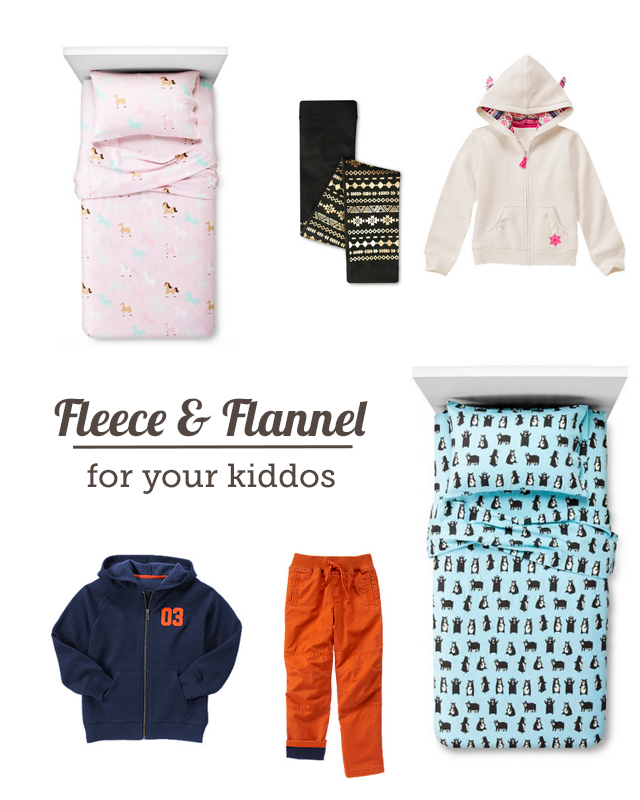 Friday Finds Fleece Flannel To Keep The Kiddos Warm Modern Parents Messy Kids
