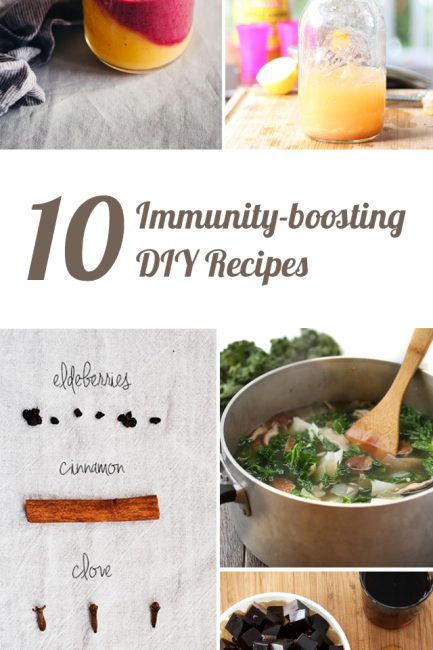 10 Immunity Boosting Recipes for Keeping the Family Healthy