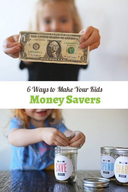 How to teach your kids to save and budget- great tips here for kids of all ages!