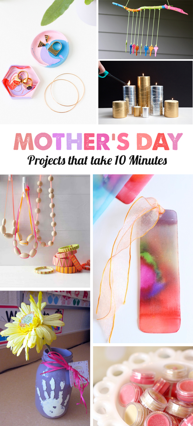 9 Mother S Day Diy Projects Your Kids Can Make In Under 10 Minutes