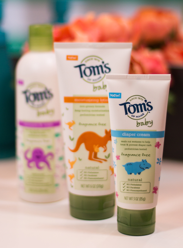 Toms of Maine Baby Products