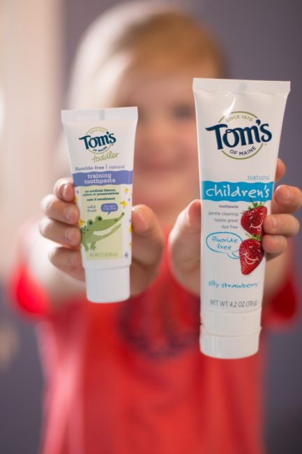 1 Year to a Non-Toxic Home: Tom's of Maine's Awesome Product Line for Kids