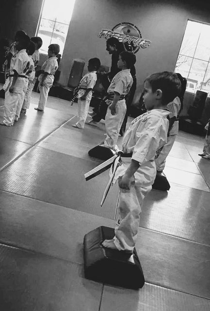 When is the best time to start kids in extracurricular activities? One family's experience with putting their kids in karate and marital arts.