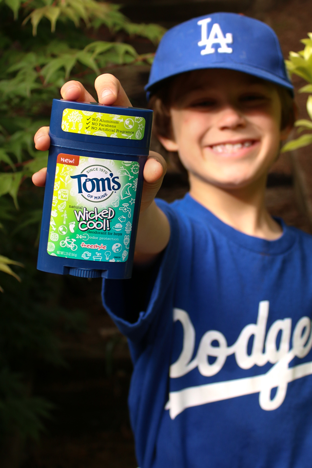 1 Year to a Non-Toxic Home - Love, love this new line of natural deodorant made specifically for boys and girls!