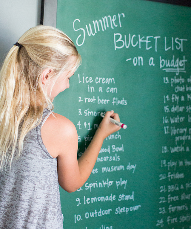 Classroom Reward Ideas That Don T Cost Money : Summer budget bucket list ideas that don t cost a lot